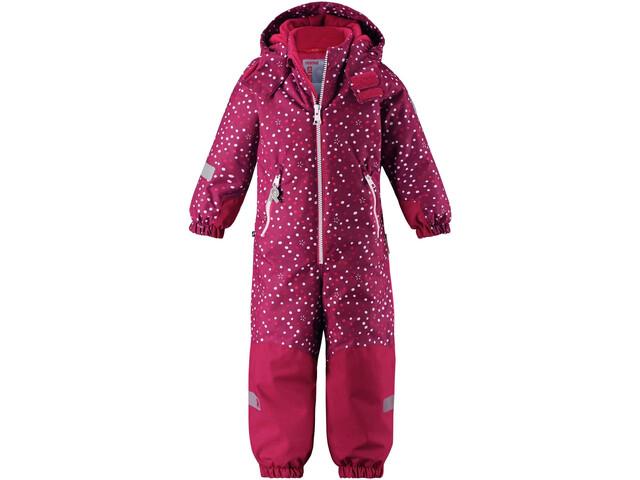 Reima Snowy Overall Kids, dark berry
